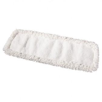 Насадка МОП для мытья пола белый (серый) разрезной 60 см