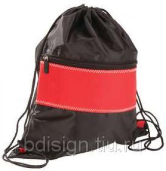 Рюкзак Unit Sport, красный с черным
