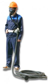 Противогаз шланговый ПШ 1C с ППМ 88 шланг резинотканевый