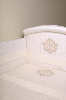 Комплект постельного белья в детскую кроватку ИНФАНТЫ ГЕРБ.