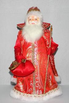 Сувенирная кукла Дед Мороз, рост 30 см.