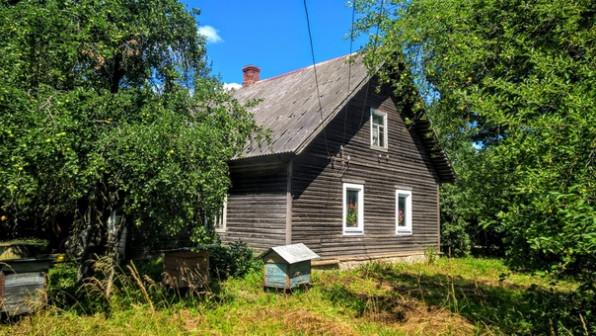 Большой добротный дом с хорошим хоз-вом, 3,5 Га. земли