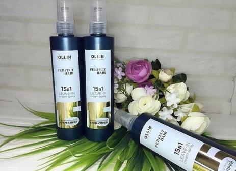 Ollin Perfect Hair 15 в 1 Несмываемый крем спрей
