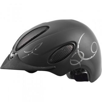 Шлем PERFEXXION Glamour, черный, для верховой езды