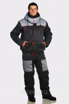 Костюм «ГРЭЙ» зимний (куртка+полукомбинезон)