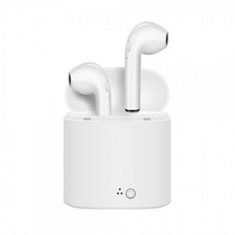 Беспроводные наушники гарнитура i7S (Bluetooth)