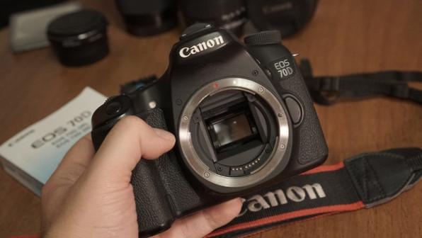 Фотоаппарат Canon 70d