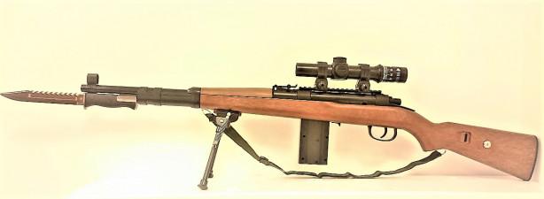 Игрушечная пневматическая снайперская винтовка Мосина JF 15 98cм с оптическим прицелом
