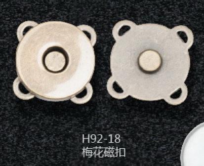 Магнит пришивной 18 мм, 1,5 мм толщинаНикель