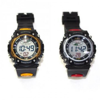 Яркие спортивные цифровые часы iTaiTek 812