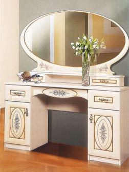 Василиса Туалетный столик с зеркалом
