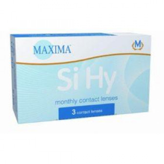 Контактные линзы Maxima Si Hy 3 pk, диопт  2,5