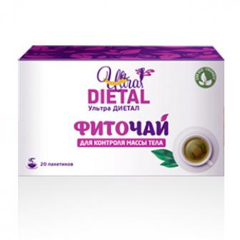 Фиточай для похудения Ultra Dietal (Ультра Диетал)