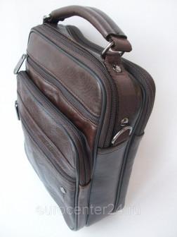 Мужская сумка из кожи на ручке