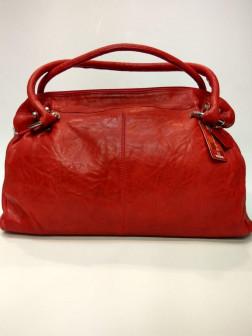 Женская кожаная сумка RED