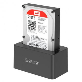 Док-станция HDD Orico 2 слота 2.5 / 3.5 USB3.0