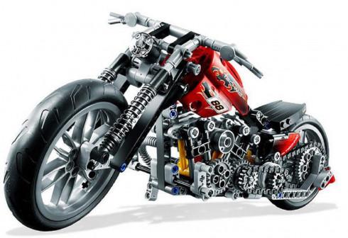 Конструктор Decool 3354 Мотоцикл, 374 дет