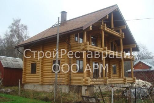Деревянные рубленные дома, бани +7(911) 575 56 56