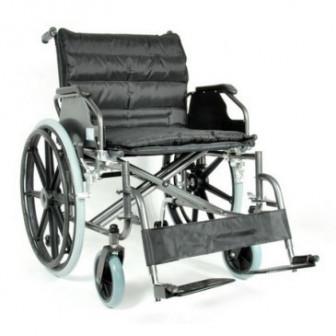 Кресло коляска FS951B 56 механическая стальная арт МдТМ24577