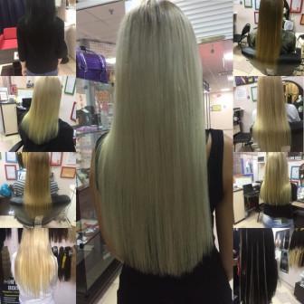 наращивание волос от 8100