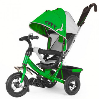 Трехколесный велосипед Trike CITY 10 JD7 air Зеленый
