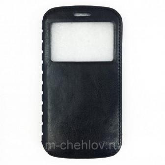 Чехол книжка для Samsung Galaxy S3 i9300  S3 Neo i9301 (Brauffen , черный)