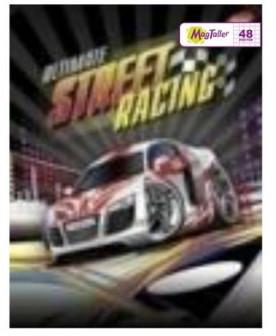 Тетрадь MagTaller А5 48 листов клетка, Street racing   белая машина