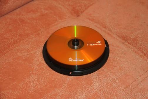 Чистые DVD-R диски. Болванки