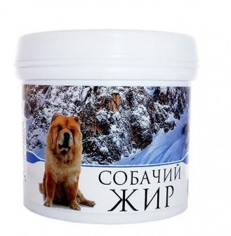 Жир собачий топленый пищевой в капсулах 150 капсул