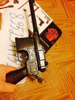 пистолет маузер макет продаю