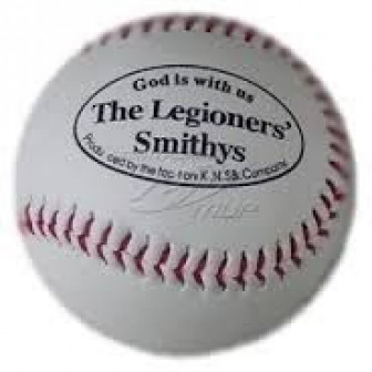 Кожаный бейсбольный мяч