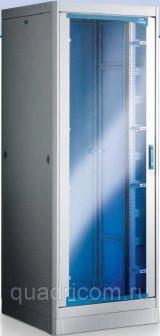 Телекоммуникационный шкаф 19'' напольный 42U 800x800 серии Tecno 800 Net Leader