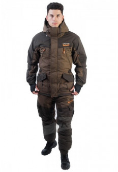 Зимний костюм для рыбалки и охоты TRITON Горка  15 (Твил, коричневый)
