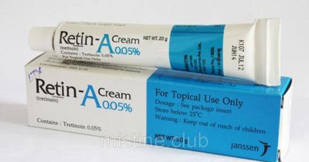 Крем для лица от акне Retin A Tretinoin Cream 05