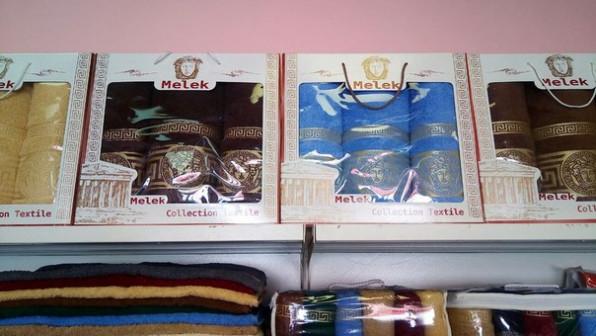 Бамбуковые, махровые и вафельные халаты, махровые полотенца, наборы для бани и сауны