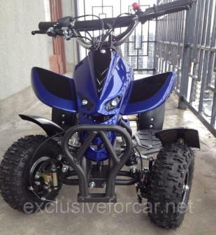Квадроцикл детский Boraby ATV kids 49 см3 (синий)