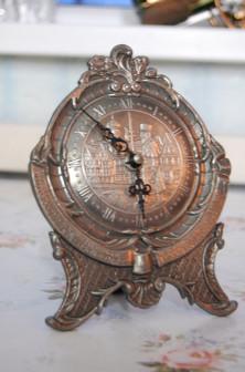 Оловянные кабинетные часыГермания