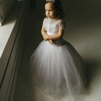 красивое новое платье для девочки(2-3 годика)