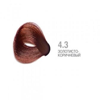 Крем краска для волос N43 золотисто коричневый 100мл