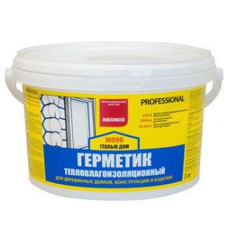 Neomid Wood Professional герметик для дерева   15 кг