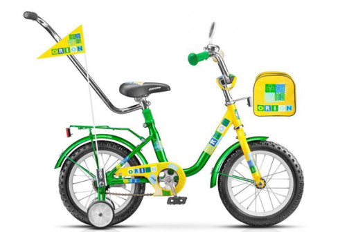 Детский велосипед STELS Flash 12 2015 Зеленый