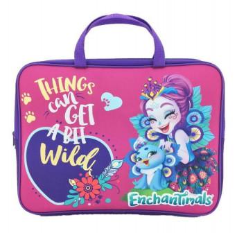 Папка сумка Enchantimals с ручкой, формат А4, текстильная Centrum 88650