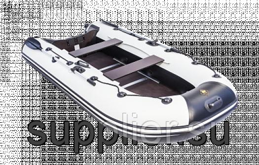 Лодка Ривьера 3200 СК под мотор до 15 лс Цвет Касатка(СерыйЧерный)