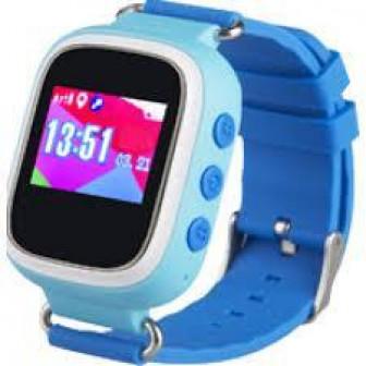 Smart Baby Watch Q60S   детские часы с GPS голубые