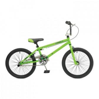 Велосипед 20 Stinger BMX Shift, 2017, цвет зелёный, размер 10