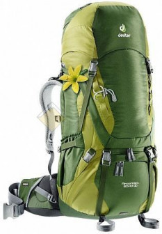 Рюкзак Deuter Aircontact 50 + 10 SL pine moss