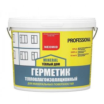 Герметик для швов в панельном доме Неомид   3 кг цвет белый