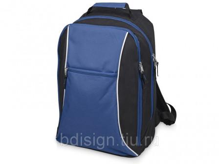 Рюкзак «Спорт», черныйсиний