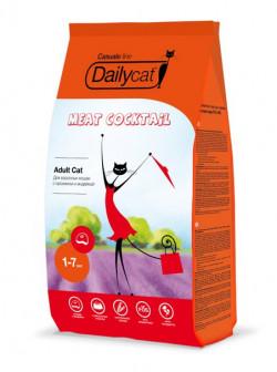 Daily Cat Casual Line Премиальный корм для кошек и котов с кроликом и индейкой - 10 кг (Под заказ)
