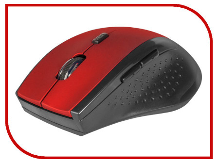 Мышь Defender Accura MM 365 Red 52367